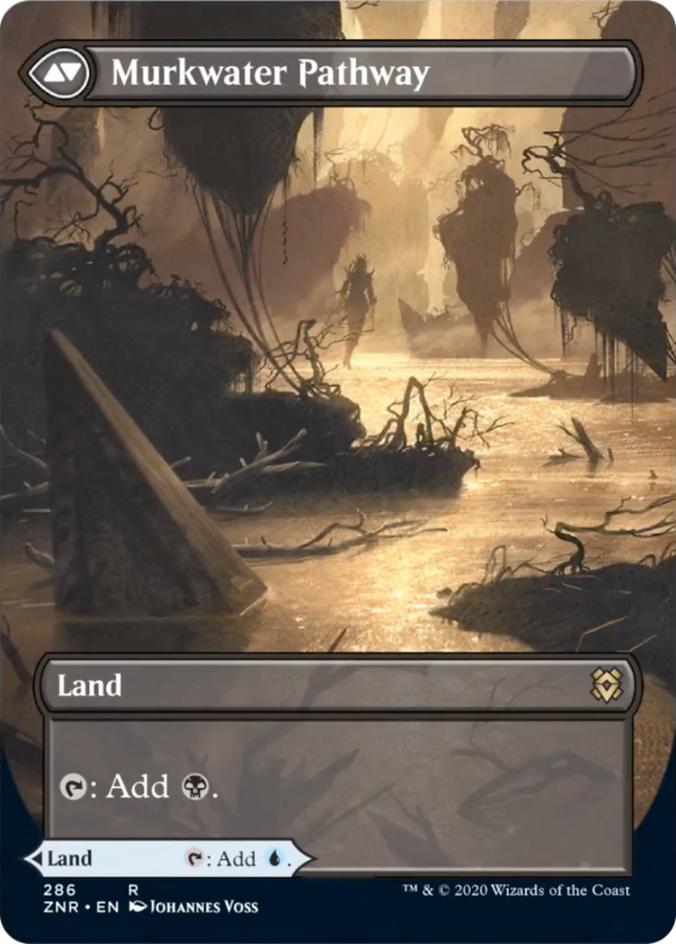 Clearwater Pathway // Murkwater Pathway Card Image