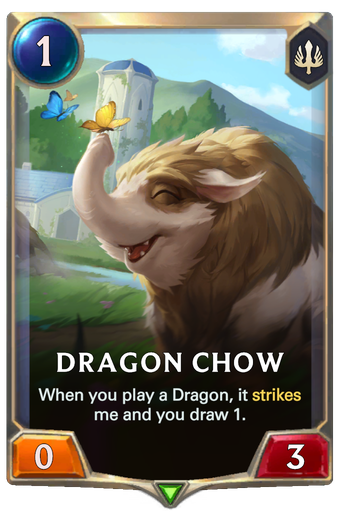 Dragon Chow Card Image