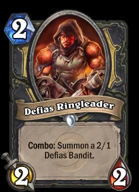 Defias Ringleader Card Image