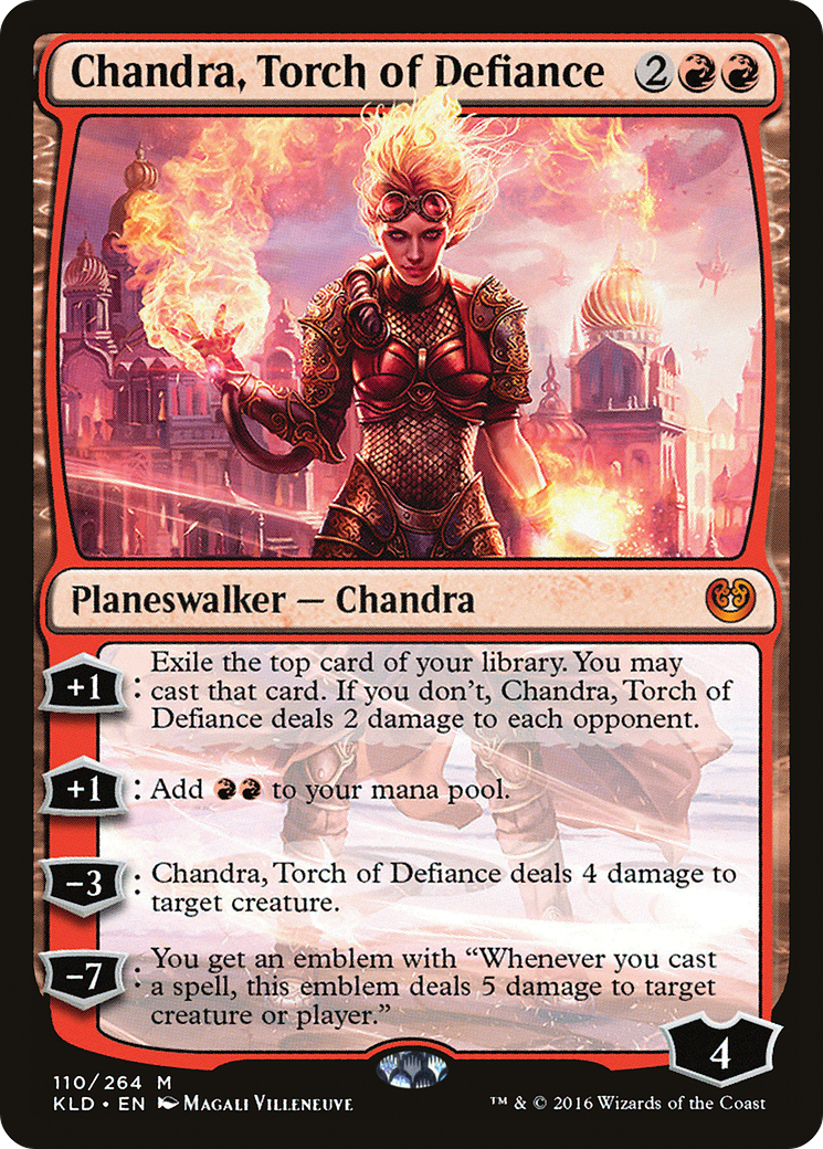 Chandra, Torch of Defiance Card Image