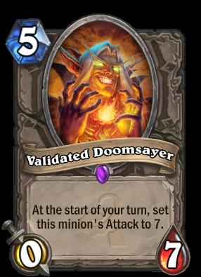 Validated Doomsayer Card Image