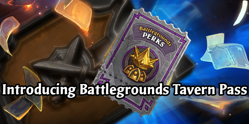 Introducing the Hearthstone Battlegrounds Tavern Pass - New Emotes, Choose From Four Heroes, Advanced Stats