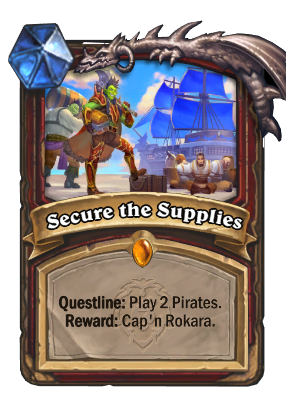 Secure the Supplies Card Image