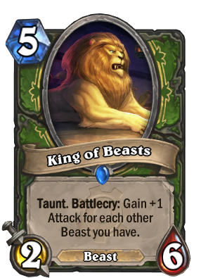 King of Beasts Card Image
