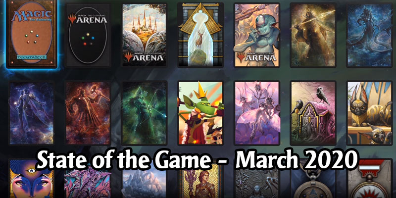 Magic Arena Releases Their March 2020 State of the Game - Direct Messaging, Quest Progress with Friends, New Sleeves UI