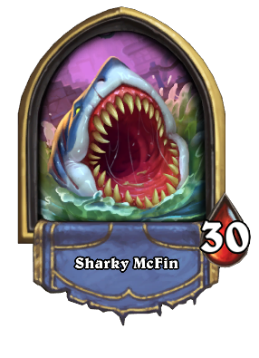 Sharky McFin Card Image