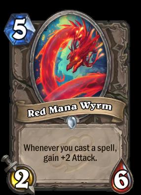 Red Mana Wyrm Card Image