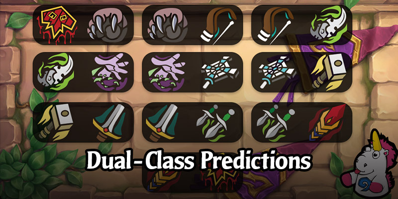 Predicting the Upcoming Dual-Class Cards From Scholomance Academy