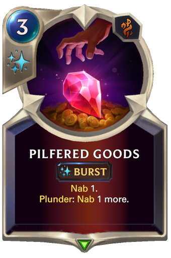 Pilfered Goods Card Image
