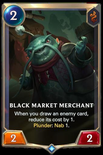 Black Market Merchant Card Image