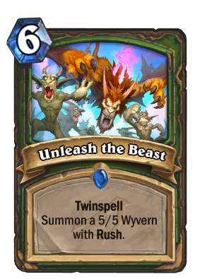 Unleash the Beast Card Image