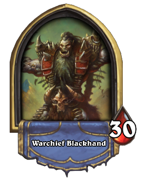 Warchief Blackhand Card Image