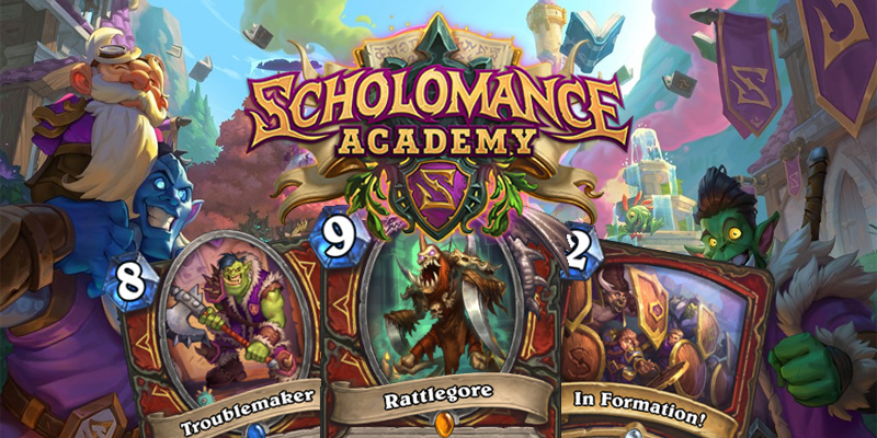 Our Thoughts on Hearthstone's Scholomance Academy Warrior Cards