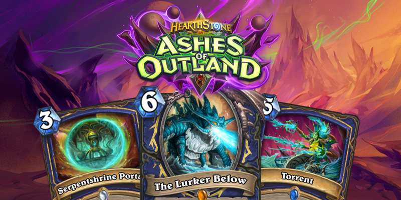 Our Thoughts on Hearthstone's Ashes of Outland Shaman Cards