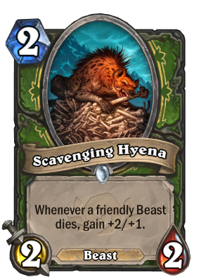 Scavenging Hyena Card Image