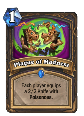 Plague of Madness Card Image
