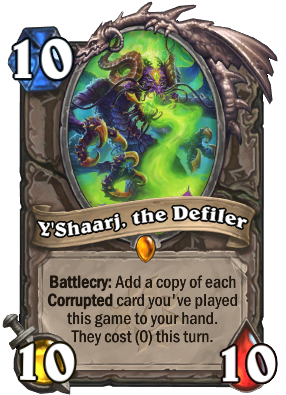Y'Shaarj, the Defiler Card Image