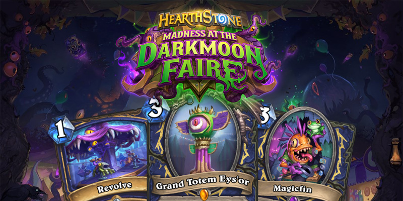 Our Thoughts on Hearthstone's Madness at the Darkmoon Faire Shaman Cards