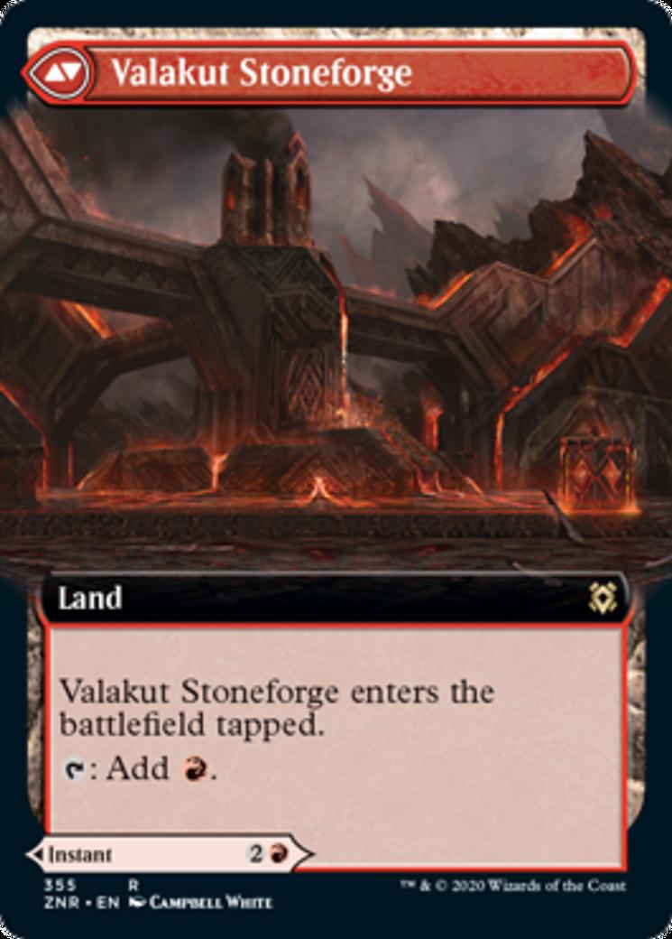Valakut Awakening // Valakut Stoneforge Card Image