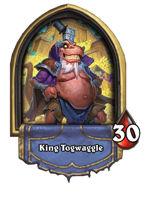 King Togwaggle Card Image