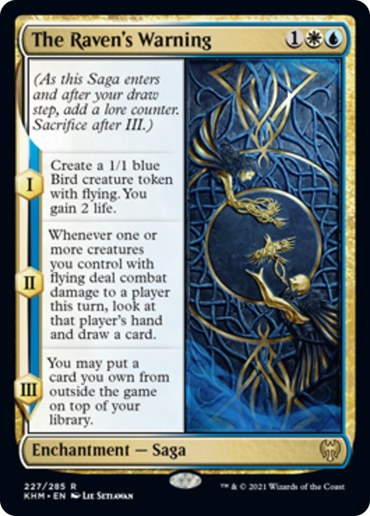 The Raven's Warning Card Image