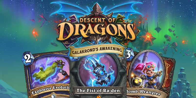Out of Cards Reviews - Galakrond's Awakening #3