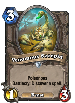 Venomous Scorpid Card Image