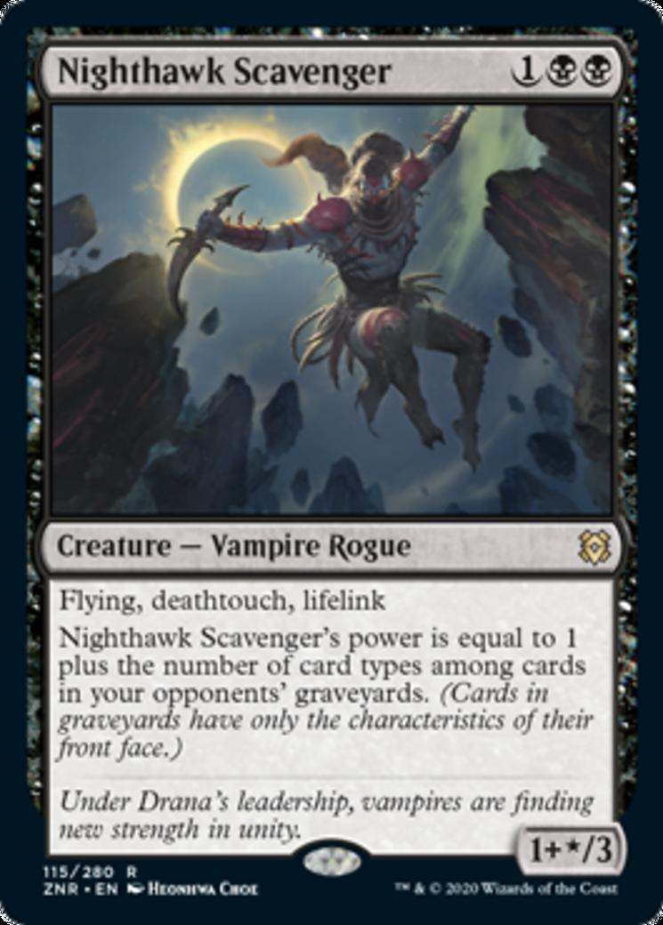 Nighthawk Scavenger Card Image