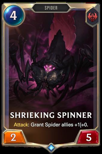 Shrieking Spinner Card Image