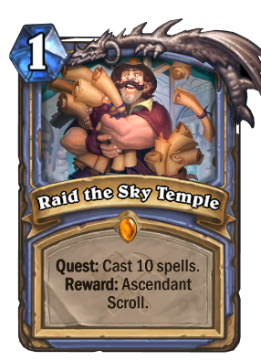 Raid the Sky Temple Card Image