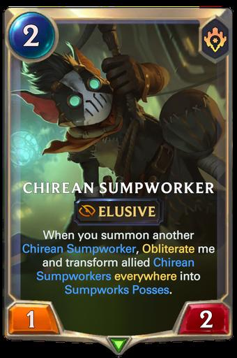 Chirean Sumpworker Card Image