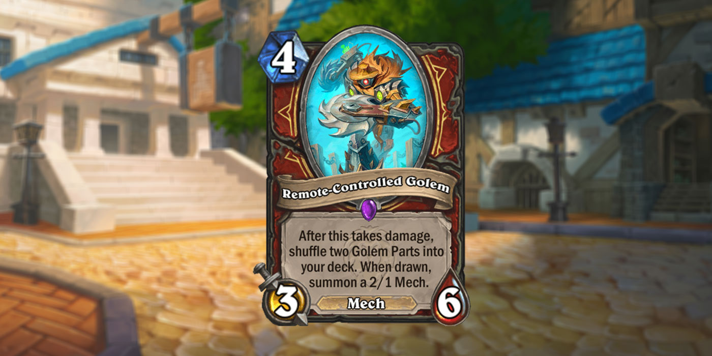 New Warrior Card Revealed for United in Stormwind by ChunGe - Remote-Controlled Golem
