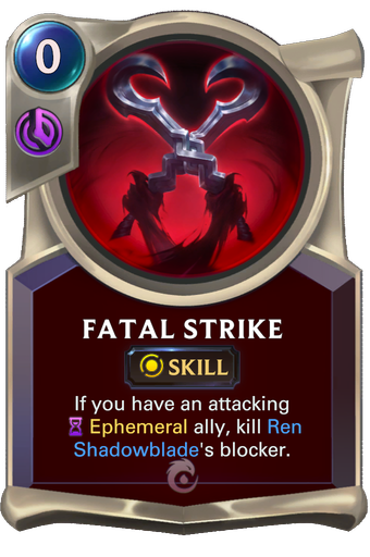 Fatal Strike Card Image