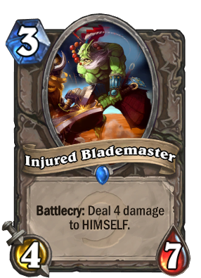 Injured Blademaster Card Image