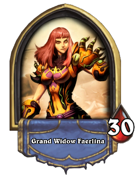 Grand Widow Faerlina Card Image