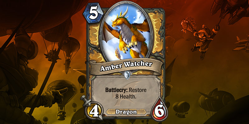 Paladin Card Reveal - Amber Watcher