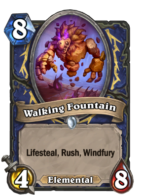 Walking Fountain Card Image