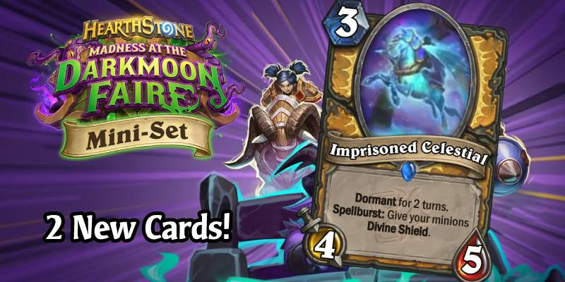 More Darkmoon Faire Mini Set Card Reveals - Priest's Lightsteed & Paladin's Imprisoned Celestial