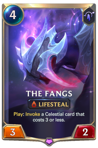 The Fangs Card Image