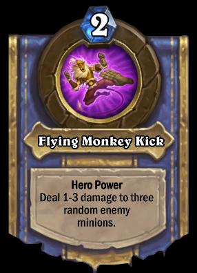 Flying Monkey Kick Card Image