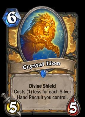 Crystal Lion Card Image