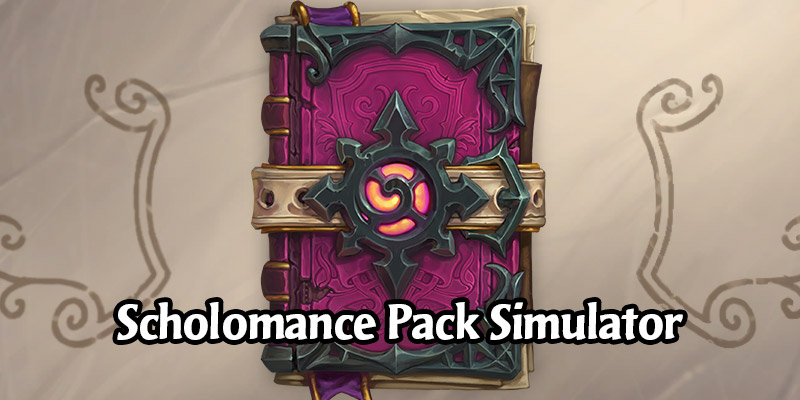 Our Scholomance Pack Opener is Now Live! Will You Place on Our Leaderboards?
