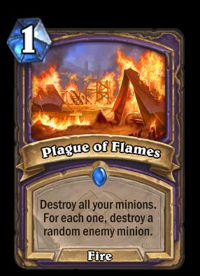 Plague of Flames Card Image