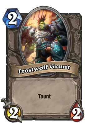 Frostwolf Grunt Card Image