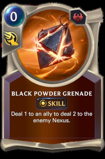 Black Powder Grenade Card Image