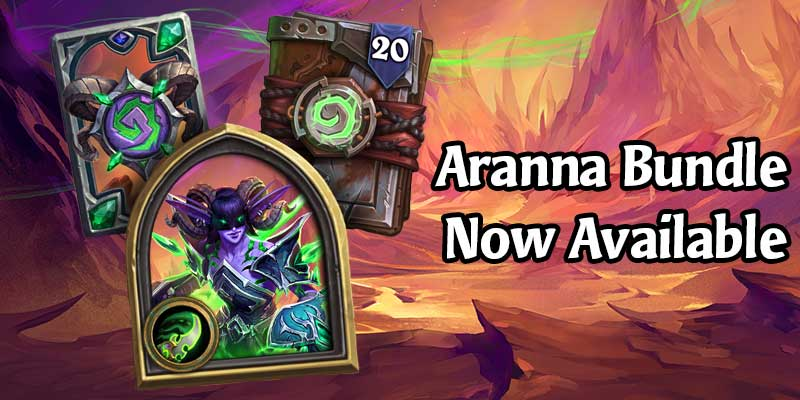 Get a New Demon Hunter Hero in the Aranna Starseeker Shop Bundle - Now Available