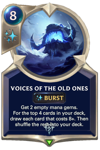 Voices of the Old Ones Card Image