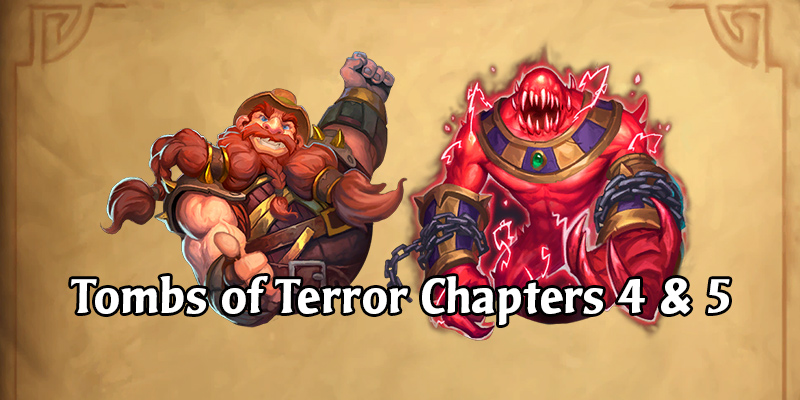 Chapter 4 & 5 of Tombs of Terror Unlock Today!