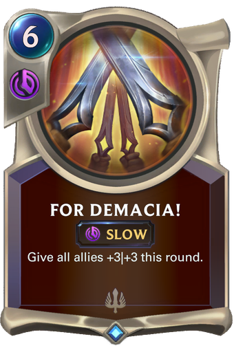 For Demacia! Card Image