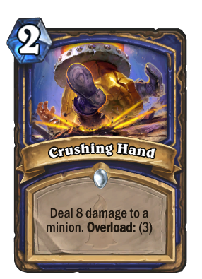 Crushing Hand Card Image